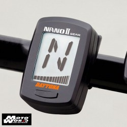 Daytona 86533 Nano 2-Gear Gauges with Backlight Gear Shift Indicator