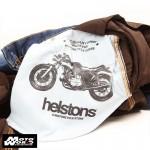 Helstons Corden Raw Cotton Pants