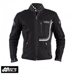 Helstons Sonny Men Mesh Fabrics Jacket- Black
