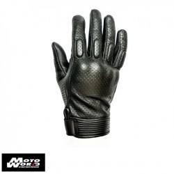 Helstons Side Leather Perforted Gloves