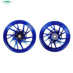 MOS YBC3FG1005 Forged Aluminum Alloy Wheel Rim Set for Yamaha T-MAX 10 17