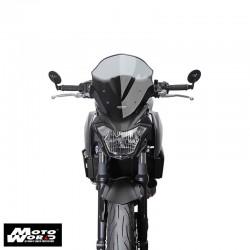 "MRANRN1 Z650 17 MRA Racing Windscreen ""NRN"" Z650 17-Smoke Grey"