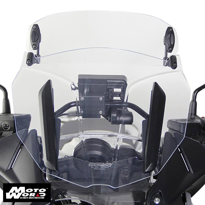 MRA MXC1 BMW R1200GS 13 Multi X-Creen MXC Windshield - Smoke Grey