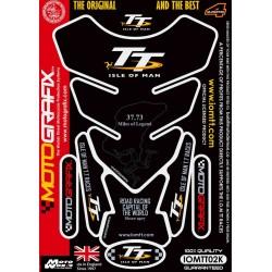 Motografix CAD IOMTT02K Official Isle of Man TT Tankpad -Black