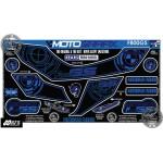 Motografix CAD RB010 BMW F800GS Motorcycle Rear Seat Unit Paint Protector