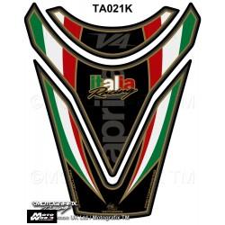 Motografix CAD TA021K Aprilia RSV4 R Tuono V4 09 10 11 Black Italia Motorcycle Tank Pad Protector 3D Gel