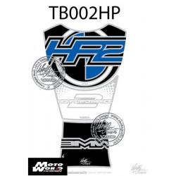 Motografix CAD TB002HP BMW HP2 Sport 2008 2009 Blue Motorcycle Tank Pad Protector 3D Gel
