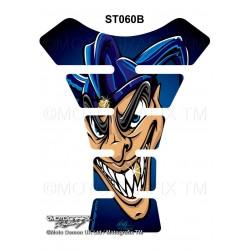 Motografix CAD ST060 Evil Joker Motorcycle Tank Pad Protector 3D Gel