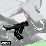 Daytona 93387 Black Mountbar W/USB Stem Clamp