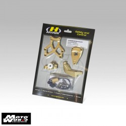 Hyperpeo MKBM10O003 Gold Mounting Kit for Bmw S1000XR 2015