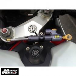 Hyperpeo MKDU12O001 Steering Damper Mounting Kit for Ducati Panigale 2012