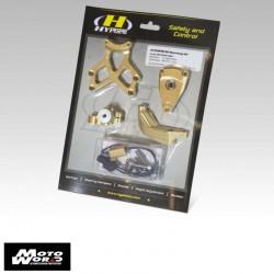 Hyperpro MKKA06T009 Steering Damper Mounting Kit for Kawasaki Z650 17