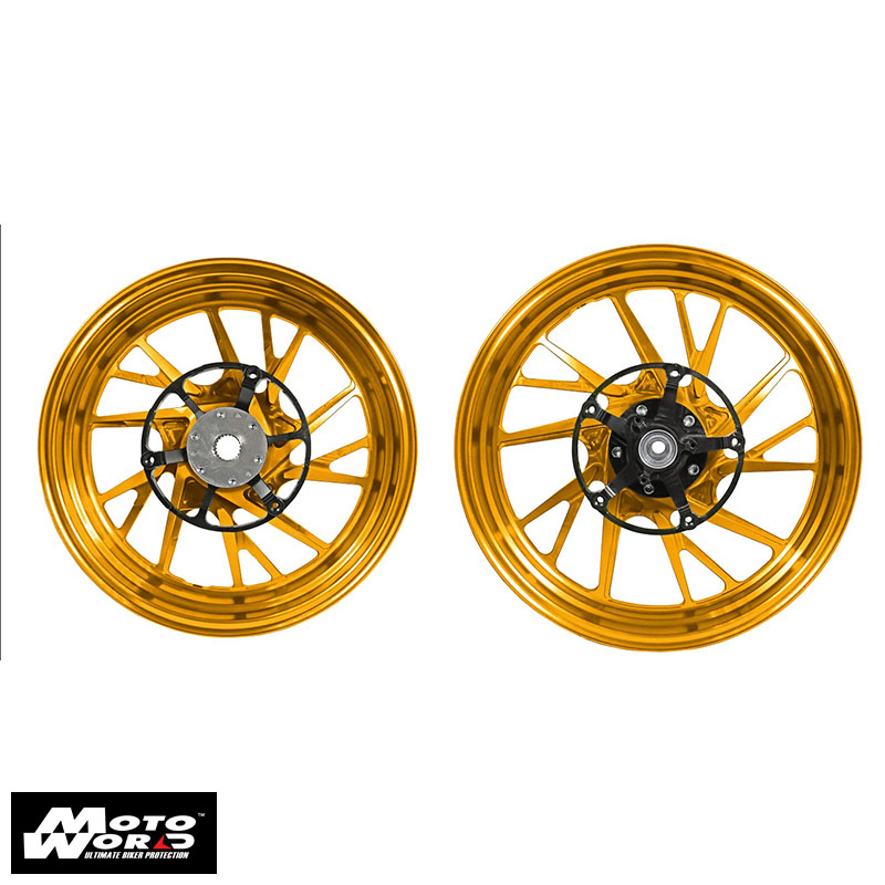 MOS YB74FG1003 Forged Aluminum Alloy Wheels for Yamaha X-MAX 10