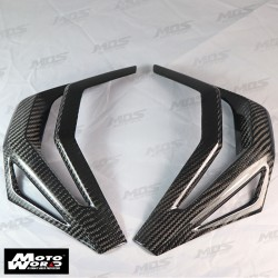 MOS HXADVHY006C01 Carbon Fiber Air Duct Cover for Honda X-ADV