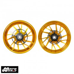 MOS YBC3FG1003 Forged Aluminum Alloy Rims Wheel for Yamaha T-Max 10 17