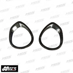 MOS YBC3HY021C01 Carbon Fiber Tachometer & Speedometer Ring Covers