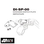 DMV DISP00K Black Switch Plate