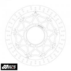 Active GSBDF0003 Cross Lock Front Brake Disc Rotor