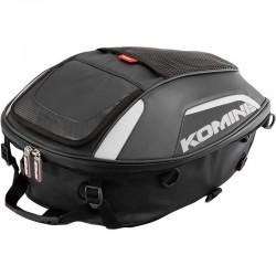 Komine SA239 Black Touring Seat Bag