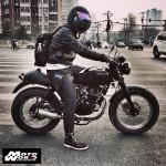 HMW Motor Wear Bubble Visor for Open Face Helmet