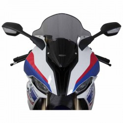 MRA R1 BMW S1000RR 15 Racing Windscreen Smoke Grey
