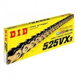 D.I.D Racing Chain 525VX3GB Pro Street X Ring Chain