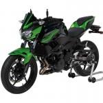 Ermax 1503S7510 Metal Black-Green Metal Nose Fairing for Kawasaki Z400