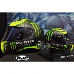 HJC RPHA01R Display Only Mini Crutchlow Replica Full Face Motorcycle Helmet