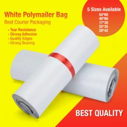White Polymailer Bag