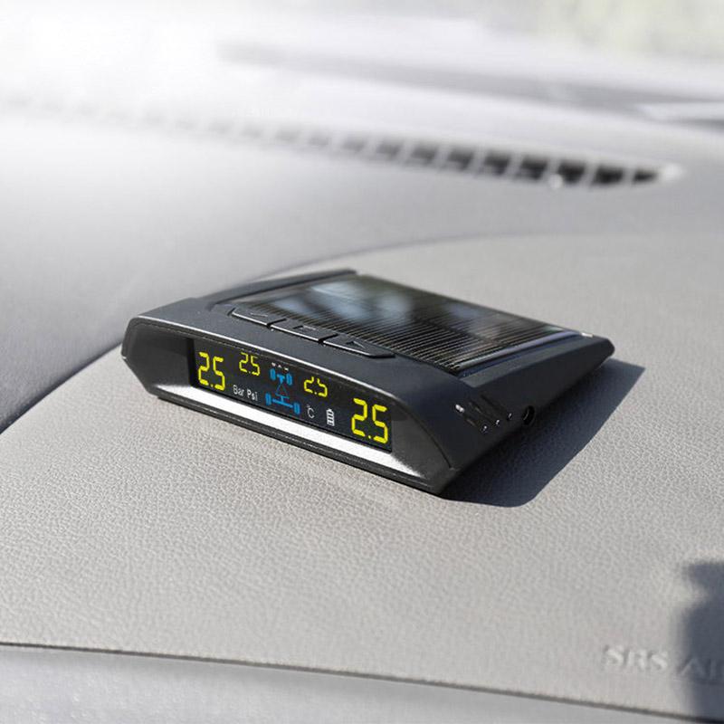 Spy Alarm TPMSA1INTCAR Solar TPMS with Internal Sensor for Car & Van