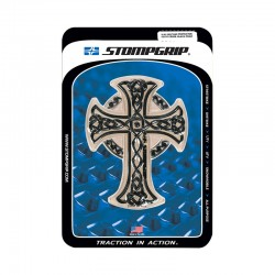 Stomp 51031003 Celtic Cross Black Print Tank Protector