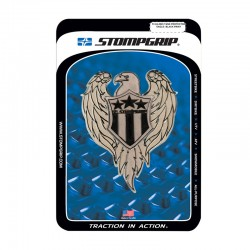 Stomp 51042003 Eagle Black Print Tank Protector