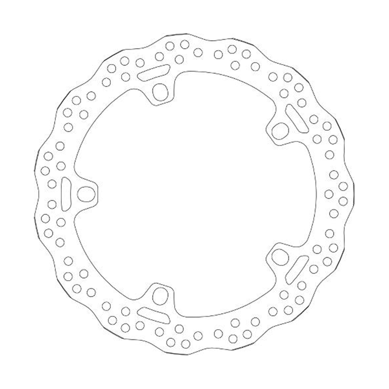 SBS 6014 R12 GS Front Brake Disc