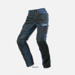 Komine PK-720DEN-Blue Cool Riding Mesh Pants Cargo