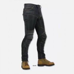 Komine PK719 Black Superfit Kevlar Mesh Denim Jeans