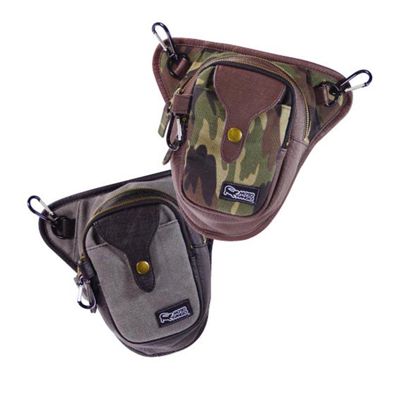 Komine SA032 Camo Brown Side Bag