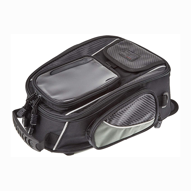 Komine SA051 Black Navigation Touring Tank Bag Magnet