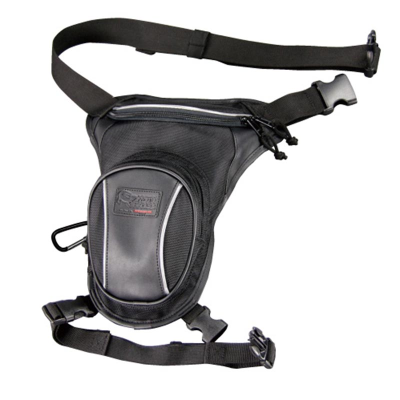Komine SA058 Black Riding Leg Bag 2