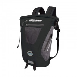 Komine SA236 Black/Grey Waterproof Backpack 20