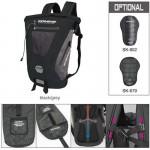 Komine SA236 Black/Grey Waterproof Backpack 20