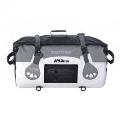 Oxford OL971 Aqua T-50 Roll Bag-White/Grey