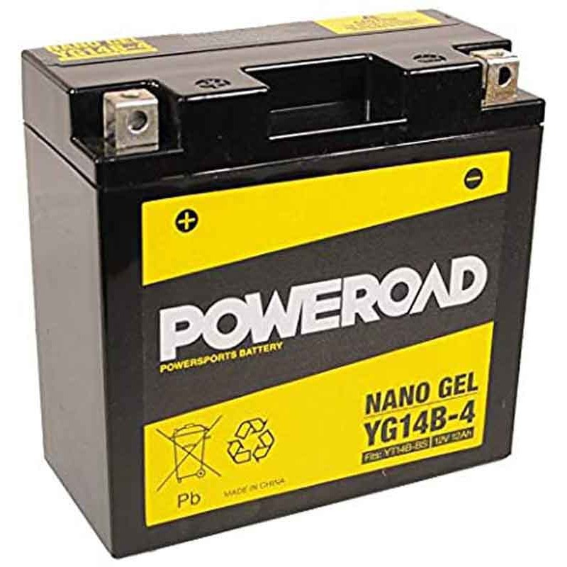 Poweroad YG14B-4 Batteries Nano Gel