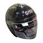 RTEC XBO2-XTRH Open Face Motorcycle Helmet - PSB Approved + Motoboy MTB 5000 Rain Coat + Only for New Riders