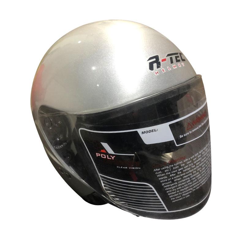 RTEC XBO2-XTRH Open Face Motorcycle Helmet