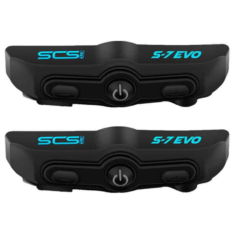 SCS S7EVO Helmet Bluetooth Communication Unit