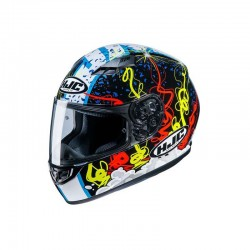 HJC CS 15 Navarro 9 Full Face Motorcycle Helmet - PSB Approved