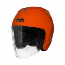 Trax TR03ZR Open Face Motorcycle Helmet - PSB Approved