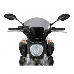 "MRA NRM0 MT07/FZ07 Racing Windscreen ""NRM"" Clear"
