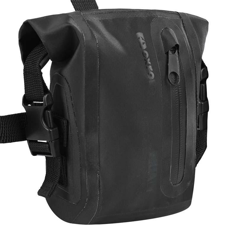 Oxford OL758 Aqua L1 Leg Bag Black