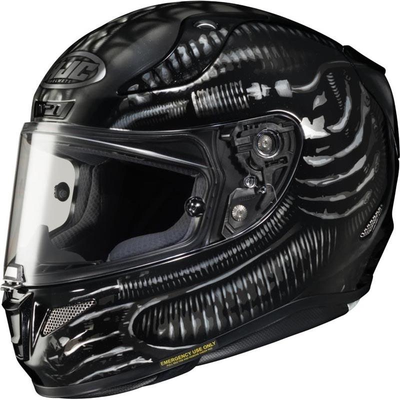 HJC RPHA 11 Carbon Aliens Fox Full Face Motorcycle Helmet